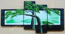 P4-53 Lukisan Panel Set Afrika