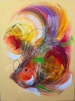 AT-36 Lukisan Abstrak